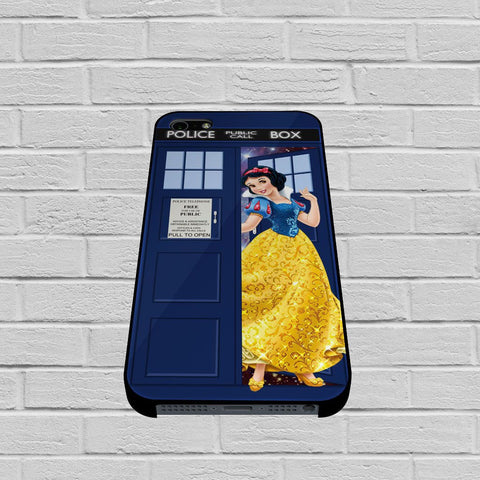 Disney Princess Snow White Tardis Police Box case of iPhone case,Samsung Galaxy