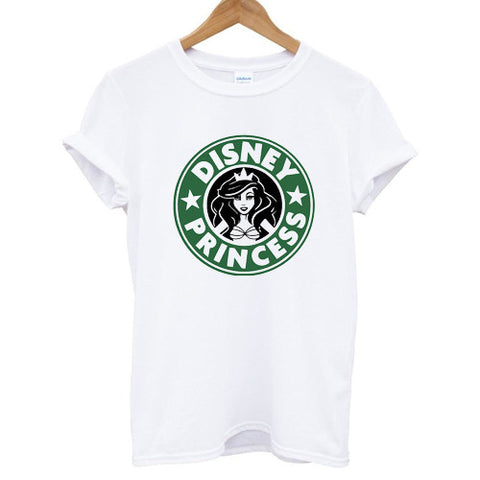 Disney Princess Starbucks tshirt