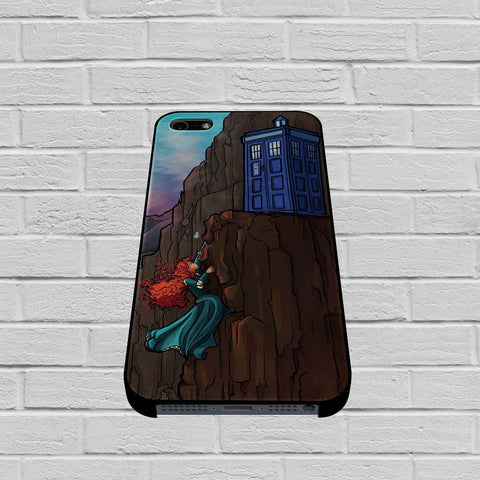 Disney Princess Tardis Dr Who case of iPhone case,Samsung Galaxy