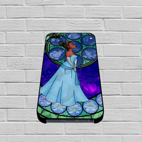 Disney Princess Tiana Stained glass case of iPhone case,Samsung Galaxy