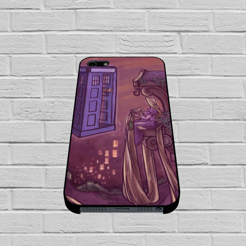 Disney Rapunzel Tardis case of iPhone case,Samsung Galaxy