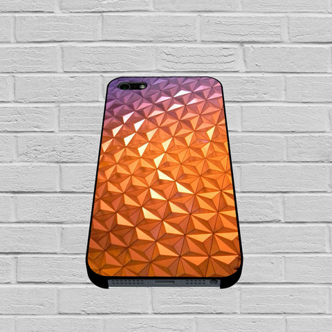 Disney World Resort Epcot Spaceship Earth case of iPhone case,Samsung Galaxy