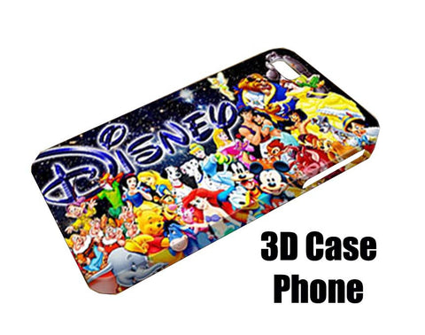 Disney all character Design 3D Case Phone case iPhone case Samsung Galaxy Case