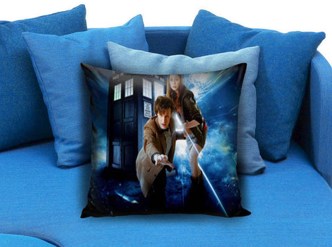 Doctor Who Tardis 02 Pillow Case