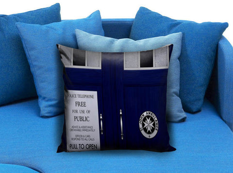 Doctor Who Tardis 05 Pillow Case