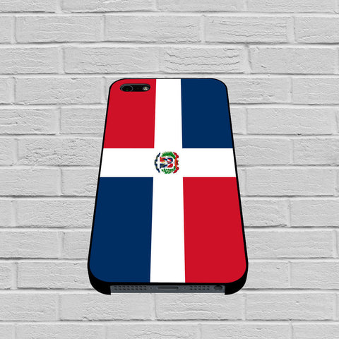 Dominican Republic Flag case of iPhone case,Samsung Galaxy