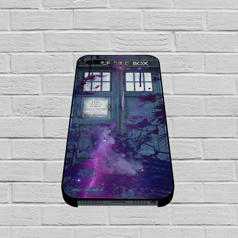 Dr Who Tardis Police Box Galaxy Nebula case of iPhone case,Samsung Galaxy