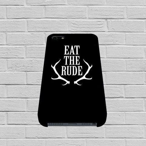 Eat The Rude Black case of iPhone case,Samsung Galaxy