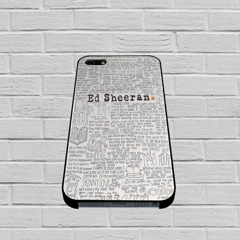Ed Sheeran case of iPhone case,Samsung Galaxy
