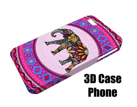 Elephant aztec Design 3D Case Phone case iPhone case Samsung Galaxy Case