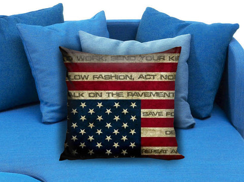 Flag america Pillow case