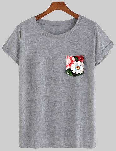Floral Tee T shirt