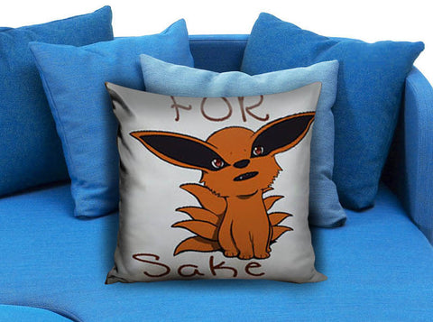 For Fox Sake cute fox Pillow case