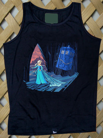 Frozen in Space and Time Tank top
