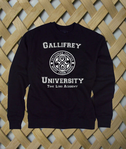 Gallifrey University sweatshirt