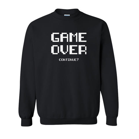 Game Over Continue Sweatshirt