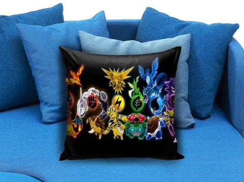 Gift Custom Pillowcase Pokemon Rectangle Pillow Case