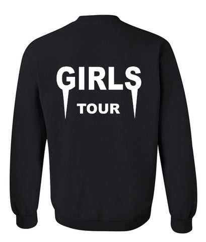 Girls Tour sweatshirt back