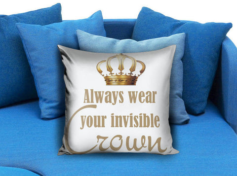 Gold Crown Pillow case