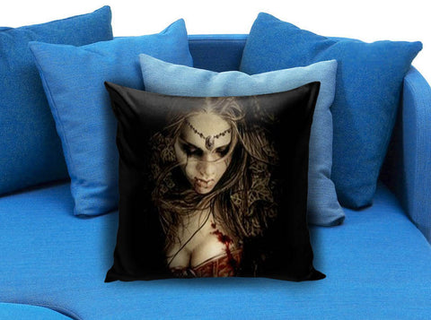 Gothic Vampire Girl Pillow Case