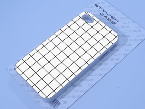 Grid White phone case Phone case iPhone case Samsung Galaxy Case
