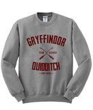 Gryffindor Quidditch Harry Potter Sweatshirt