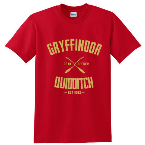 Gryffindor Quidditch Harry Potter T shirt