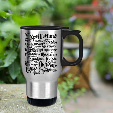 Harry Potter Magic Spells Travel mug