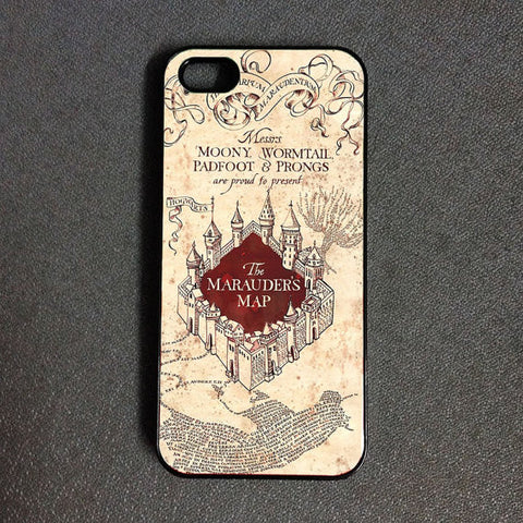 Harry Potter Marauders Map phone case