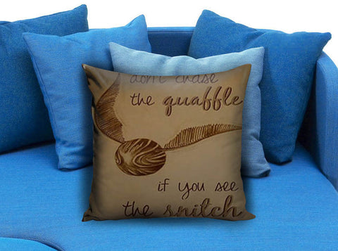Harry Potter Quote Pillow Case