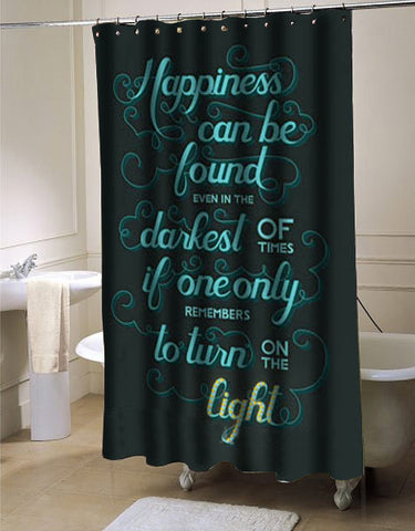 Harry Potter Quote shower curtain customized design for home decor