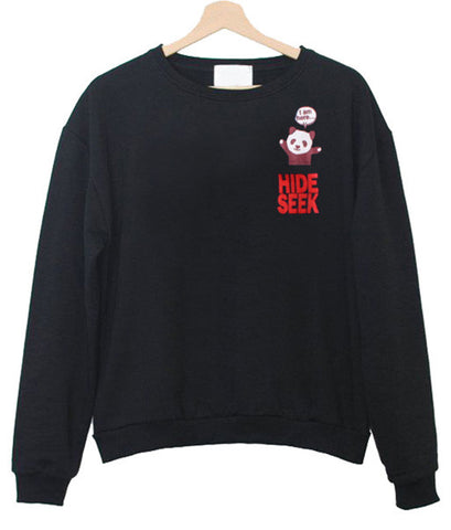 Hide seek sweatshirt