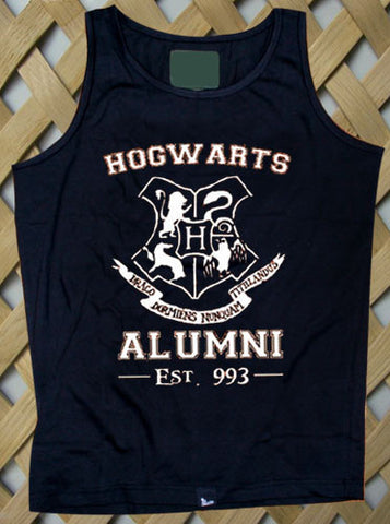 Hogwarts Alumni Harry Potter Logo Tank top