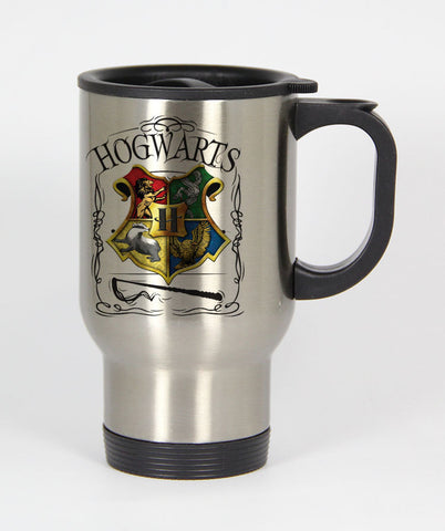 Hogwarts Alumni school Harry Potter Travel mug