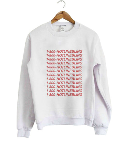 Hot Line Blink sweatshirt