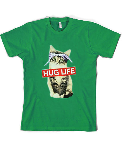 Hug Life Kitty Cat tshirt