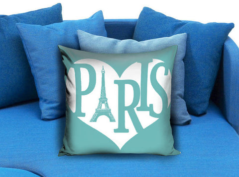 I love paris Square Pillow case