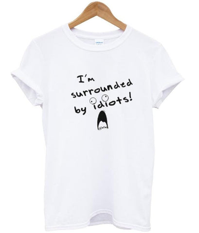 I'm surrounded tshirt