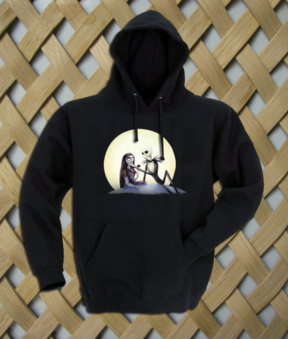 Jack and Sally nightmare before christmas Hoodie
