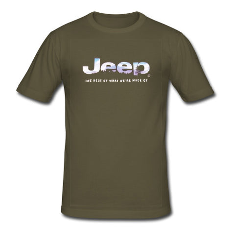 Jeep The Best Of What We're Made tshirt
