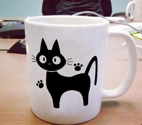 Jiji The Cat from Kikis Delivery Service Ceramic Mug