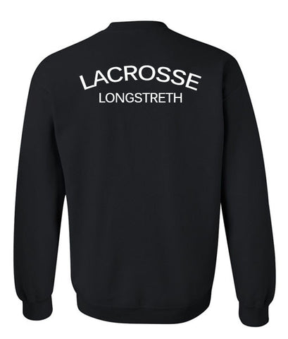LACROSSE sweatshirt back