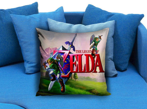 Legend of Zelda Ocarina Pillow Case