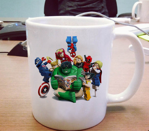 Lego marvel super hero Ceramic Mug