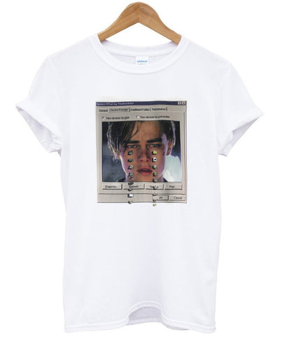Leonardo Dicaprio crying T shirt