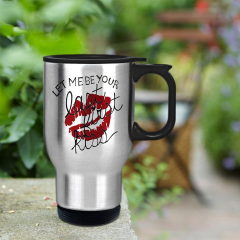 Let me be your first kiss 1D Design Travel mug