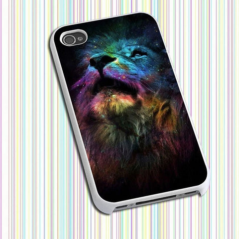 Lion King on Nebula Phone case iPhone case Samsung Galaxy Case