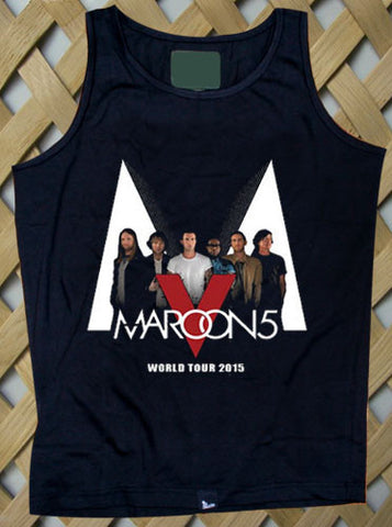 Maroon 5 World Tour 2015 Tank top