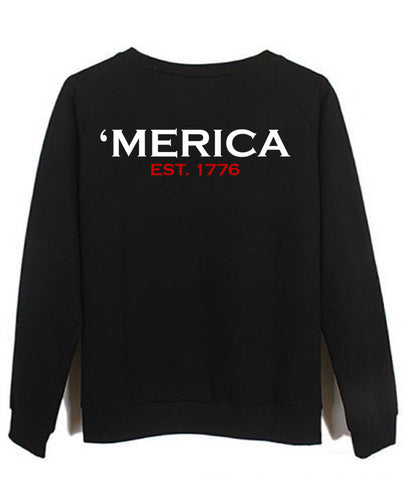 Merica back Sweatshirt