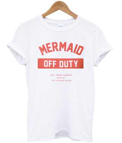 Mermaid Off Duty tshirt